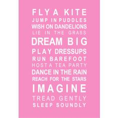 Dreams for your girl greeting cards (pack of 6)
