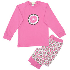 Floral bunny pyjamas