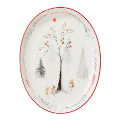 Mouse Dance Oval Platter