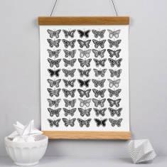 Butterfly pattern print