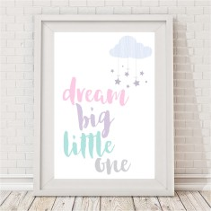 Pastel Dream Big print