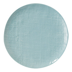 Duck Egg Blue Textured Ceramic  Side Plate