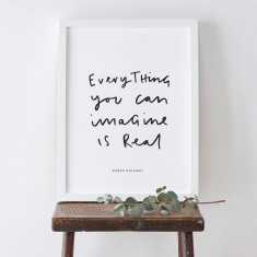 Everything Pablo Picasso quote print