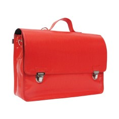 Grand satchel in basic red