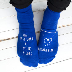 Best at.... Personalised Papa Bear Socks