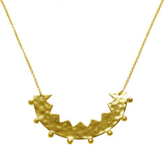 Frida necklace in 18 kt yellow gold plate