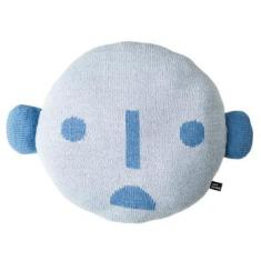 Face Pillow - Blue