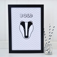 Childrens Badger Chevron Print