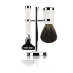 Savile Row Shaving Set - Ivory