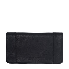 Some Type of Love leather wallet in black