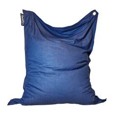 Big indoor/outdoor beanbag in Dark Denim