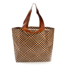 Shopper bag in grid