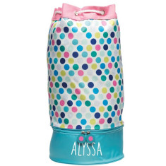 Personalised Beach Bag - Spotty