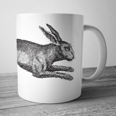 March hare coffee mug