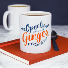 Openly Ginger Mug