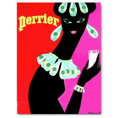 Goddess Perrier canvas