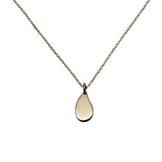 Little drop 9K gold necklace