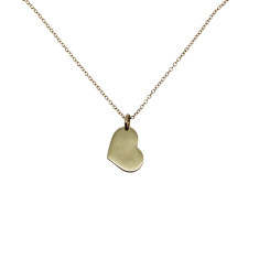 Little heart 9K gold necklace