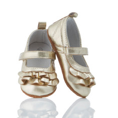 Baby Goldilocks leather pre-walker shoes