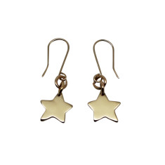 Little star 9K gold earrings
