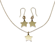 Little star 9K gold gift set