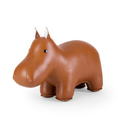 Zuny bookend classic hippo