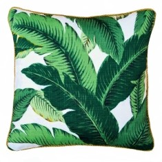 Bahama palm indoor or outdoor cushion (Various Sizes)