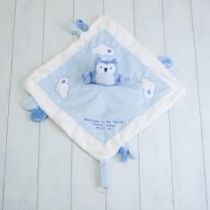 Personalised Owl Comforter Blanket