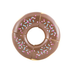 Iconic donut toy puzzle