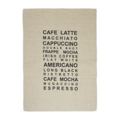 Essential coffee tea towel