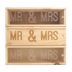 Mr & Mrs Wine Box