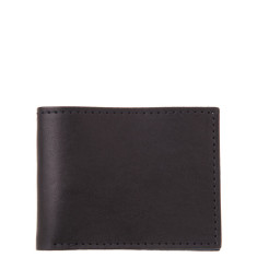 Alley cat wallet in black