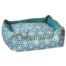Honeycomb couch dog bed