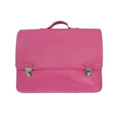 Grand and petite satchel in basic pink