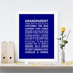 Grandparents print