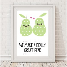 We make a great pear print