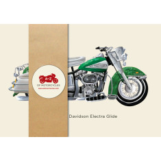Classic motorcycles cards (set of 6)