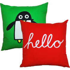 Greetings cushion cover