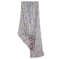 Lounge pants in grey blossom