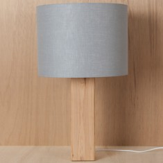 Light grey lamp