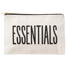 Essentials Canvas Pouch