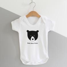 Baby Bear, Personalised Baby Grow