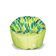 Duplicated from: BBBYO Luxury linen armchair beanbag - leaf print