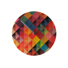 Objectify Grid2 Wall Clock