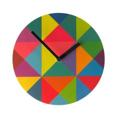 Objectify Grid Wall Clock - Medium Size