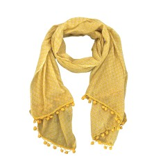 Olivia cotton scarf