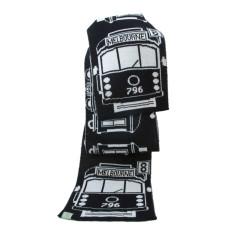 Tram I am merino wool scarf