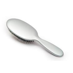 Rock & Ruddle hair brush in Metallic Silver