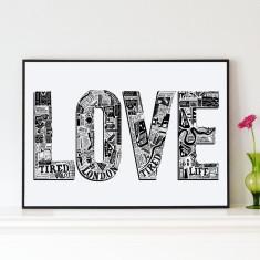 Love London Print