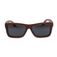 Gugs red bamboo sunglasses